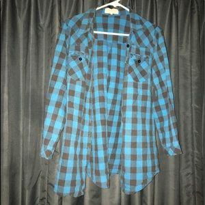 Cute Banana USA flannel shirt SZ: M